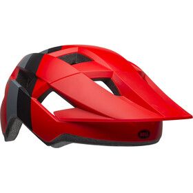 Bell Spark Cykelhjälm Barn downdraft matte crimson/black